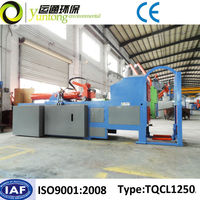 Yuntong Environmental Composite Scrap Tractor Tire Wire Extractor and Cutter With CE
