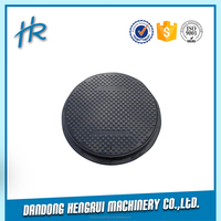 Manufacturer ISO9001 Precision Class B125 Gully Grate Manhole Cover