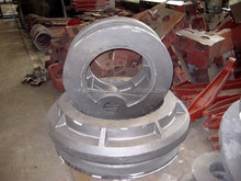 Heat Resistance Casting Iron,cast iron wheels,Grey iron casting parts