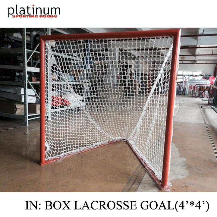 Goal Platinum: Box Lacrosse Goal 4'*4'*5', View Box Lacrosse Goal
