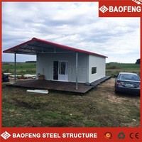easy to transport prefabricated portable construction bunkhouse design