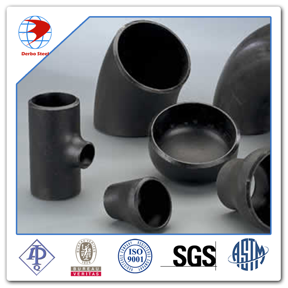 ansi b16.9 schedule 40 astm a234 wpb butt welding black carbon steel pipe fittings