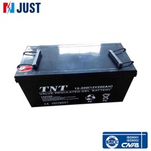 High quality 12v 200ah sealed gel battery for solar