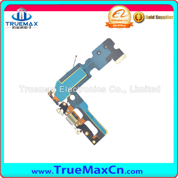 Black and White Charging Port Flex Cable for iPhone 7 Plus