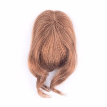 Hot ladystar human hair bangs fringe clip in bang hair fringe for women