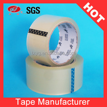 Free sample! Best Quality Crystal clear BOPP packing tape