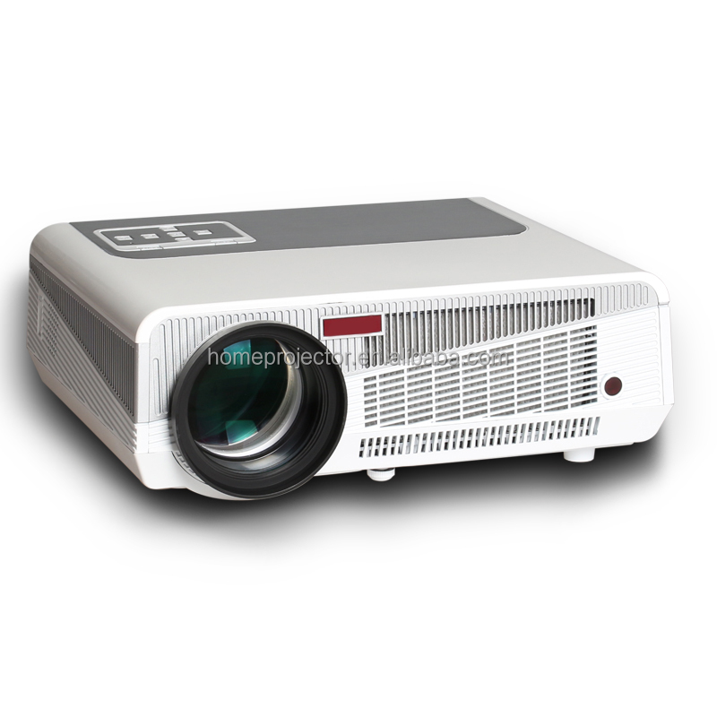 3000Lumens 120 Inches Projection Image 1080P HD Android 4.4 WIFI Business LCD Projector