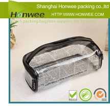 2014 new recycled big Christmas make up plastic packaging bag