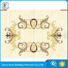 Factory Supplier rectangle stone floor medallion China