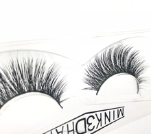 Full strip eyelash, glamorous mink eyelash no.002