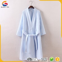 lightweight cotton robe disposable spa gown shower gown