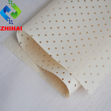 0.18mm 1.37mWx100mL per roll new roof and wall materials perforated stretch ceiling with holes PVC ceiling sheet