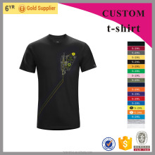 Blank custom wholesale bamboo cotton t shirt