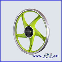 SCL-2013030304 motorcycle parts aluminum rear wheel for sale for DY100