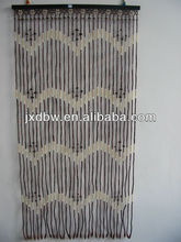 Pattern Christmas Decoration Painted Beaded Bamboo Door Curtain