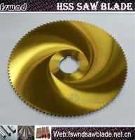 M42 DM05 HSS circular saw blade to cut steel and metal material