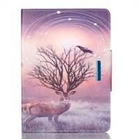 fashion casual colorful drawing pattern leather mobile case for ipad pro 9.7
