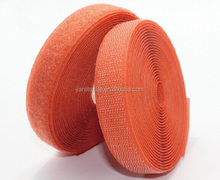Hook loop sew on magic tape for garment use, colorful hook and loop tape