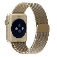Alibaba Gold Supplier Retro Gold Stainless Steel Milanese Band for Apple Watch 38mm