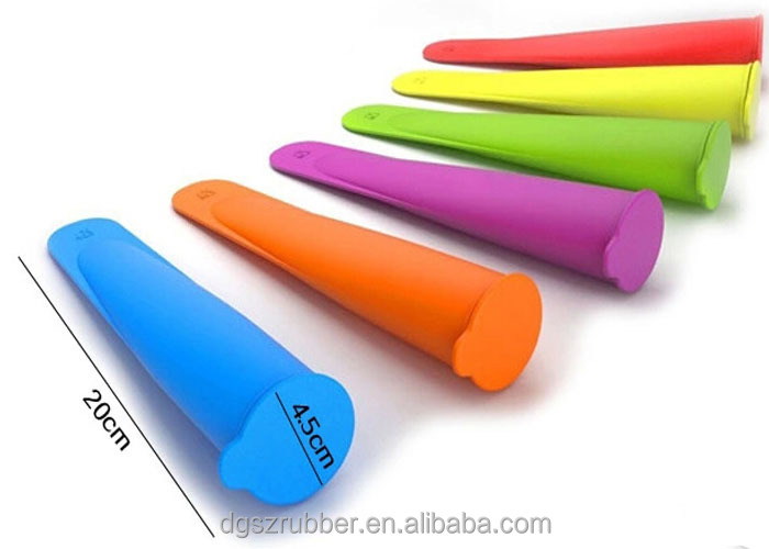 Silicone Popsicle-Silicone Ice Cream Molds-Ice Pop Molds with Lids