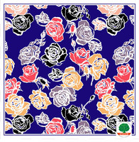 Own Design Fashion Digital Wholesale Women Large Square Printing Polyester Scarf