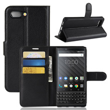 Leather Flip Mobile Phone Wallet <strong>Case</strong> For <strong>Blackberry</strong> Key2 <strong>Case</strong> cover key 2