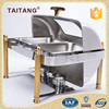 Hotel restaurant use food warmer container stainless steel roll top chafer