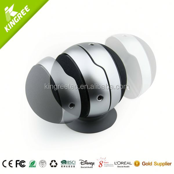 Fashion USB adapter for mini speaker with subwoofer from mini speaker manufacturer
