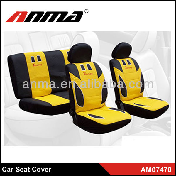 Anma brand 9 pieces completely set pvc leather car seat cover