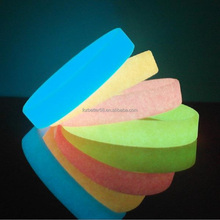 Cheap glow in the dark silicone bracelet, Blank silicone wristband, Glowing rubber band