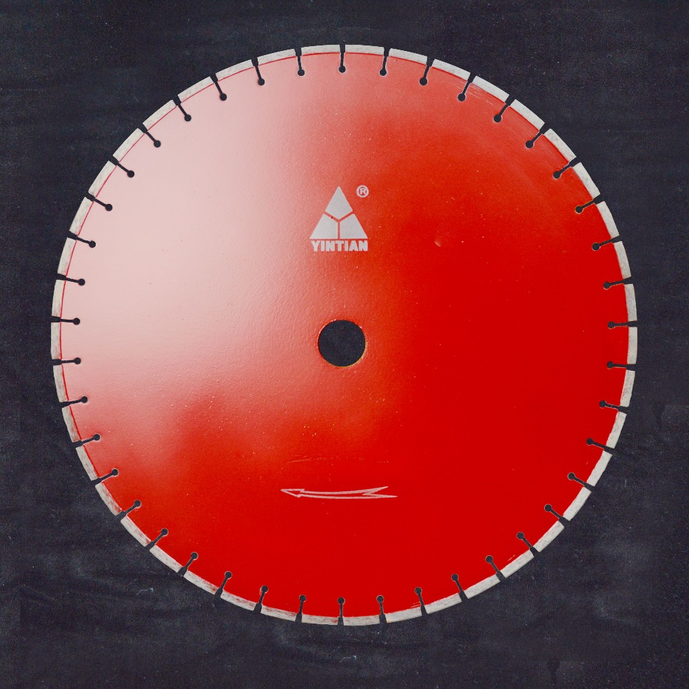 Laser welding 600mm 24inch diamond saw blade cutting granite marble concrete limestone disc tools