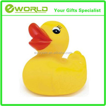 Customized Logo Printed Yellow Rubber Duck