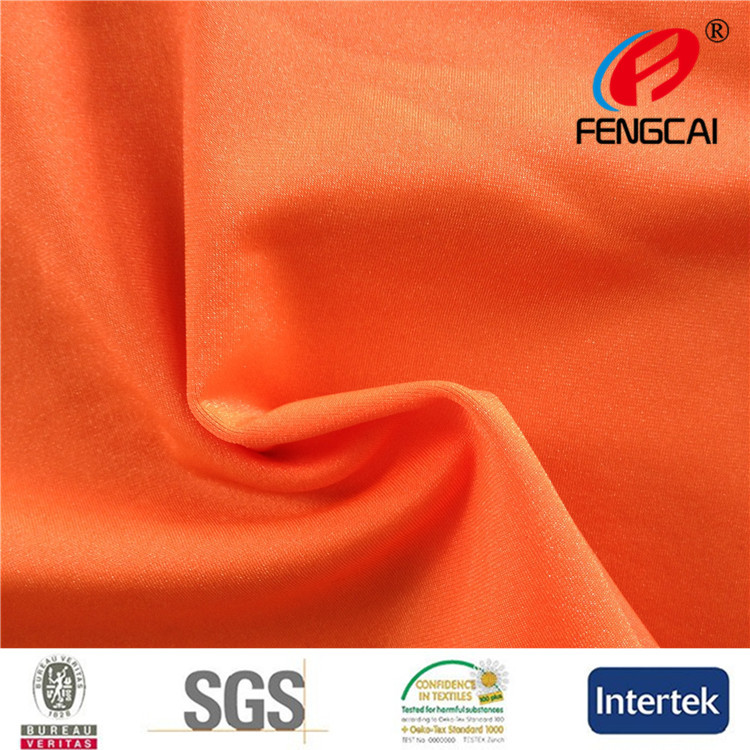 Wholesale 85 polyester 15 spandex material fabric for swimsuit