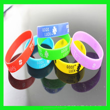 2015 hot gifts 1 inch cheap promotional bracelet custom silicon wristband