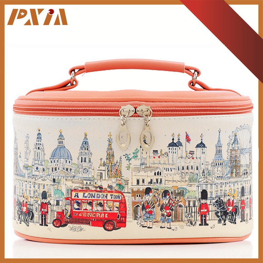Travel Accessory Promotional Cosmetic Bag Beautiful Make Up Bag For Woman