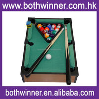 H0T056 children playing mini billiard snooker pool table