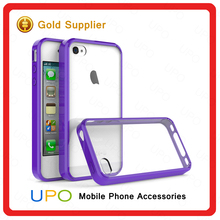 [UPO] For iphone 4 Anti-scratches Crystal Hard Air Hybrid Mobile Phone Protective Phone Case