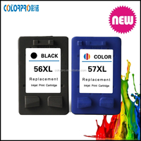New brand remanufactured Ink Cartridge for hp 56 (C6656A) 57(C6657A)