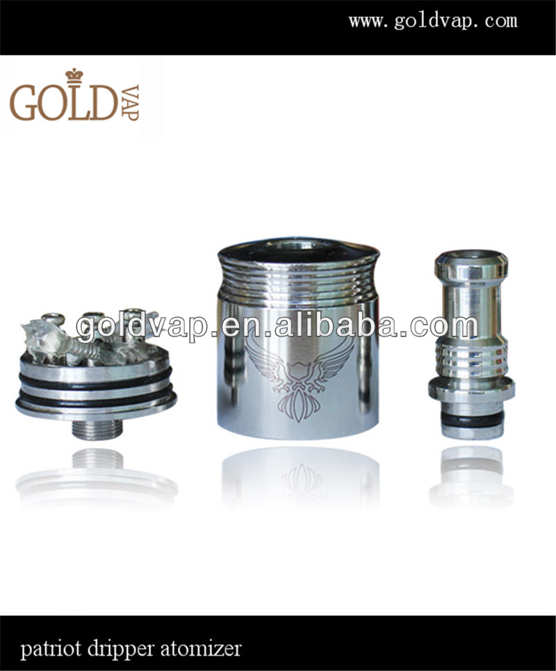 2014 unique new electronic-cigarette nimbus rebuild atomizer aios atomizer patriot