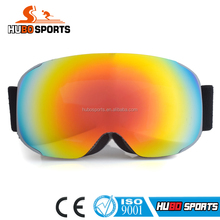 Best Quality Winter Ski Goggles Snowboard Double Lens Excellent UV 400 Anti-fog Snow Sports GogglesHB-181