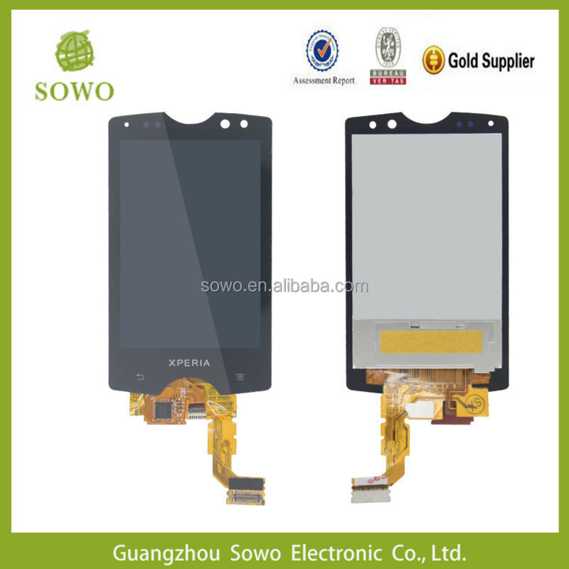 Cheap Price For Sony Ericsson sk17i LCD screen, For Sony Ericsson sk17 LCD Touch Screen Assembly