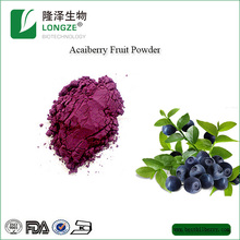 Whosale Frozen Acai Berry Extract 5:1 Water Soluble Water Fruit Powder