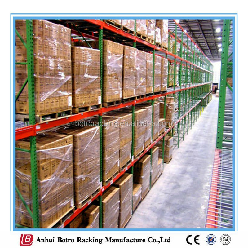 Nanjing China approved warehouse storage adjustable wholesale pallets racking for clothing
