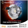 10W COB LED Fire Rated Downlight Compatible Tridonic Drivers IP65 Fire Rated Downlight Dimmable