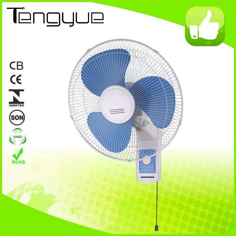 Wholesale 16 Inch Plastic Portable hanging wall fan