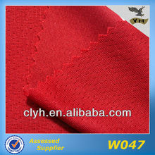 Air permeable polyester mesh sport fabric for sportswear,t-shirt,football wear