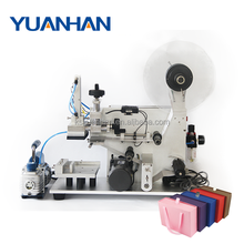 One year warranty semi automatic flat surface boxes labeling machine