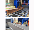 Roller Conveyor Shot Blasting Machine for Steel Structure Rust Removing