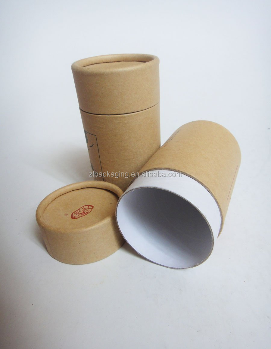 Oem kraft paper packaging cardboard tube buy cardboard for Kraft paper craft tubes