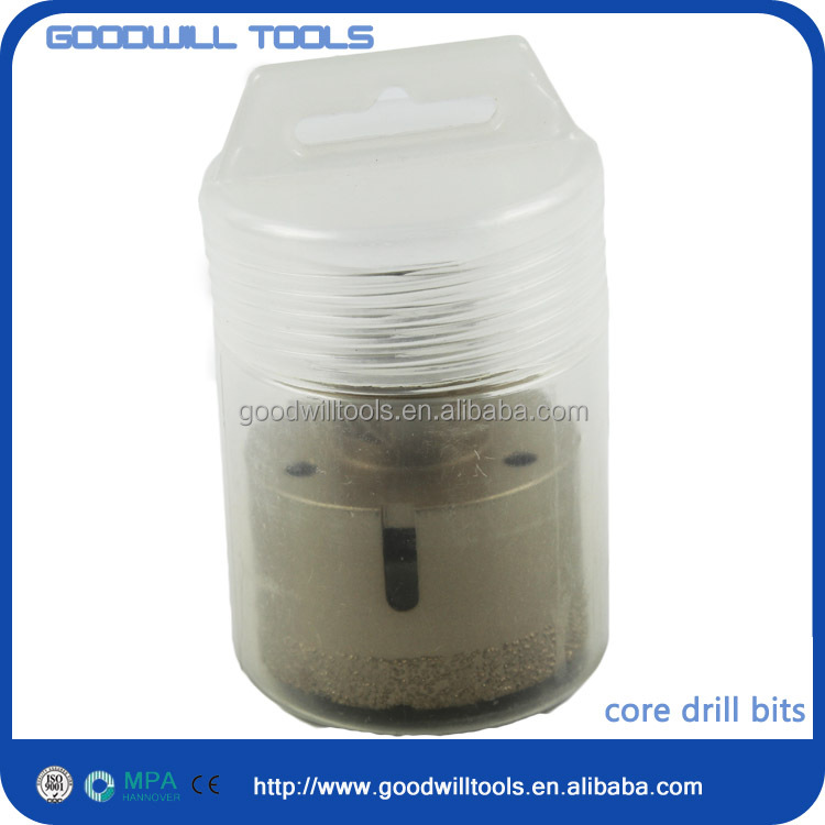 vacuum brazed diamond tip core drill bit power tools